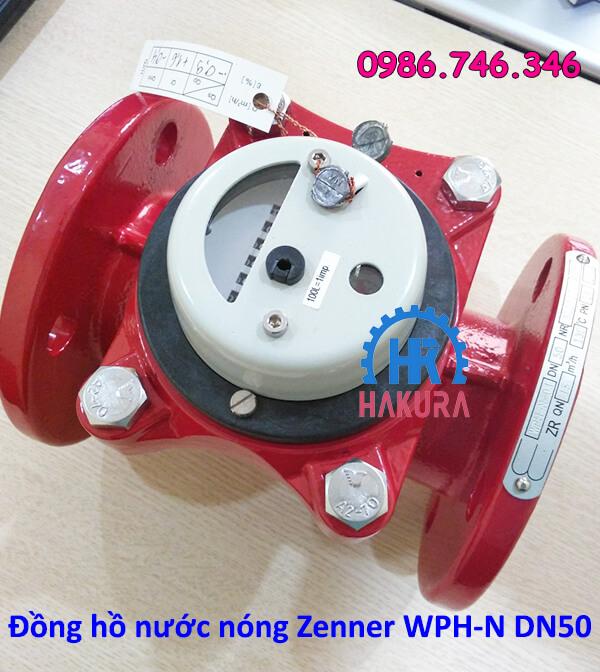 Đồng hồ nước nóng Zenner DN50