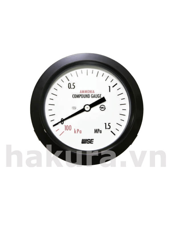 Đồng hồ đo áp suất Wise model p112