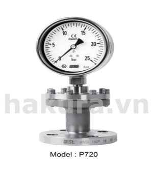 Đồng hồ đo áp suất Wise model p720