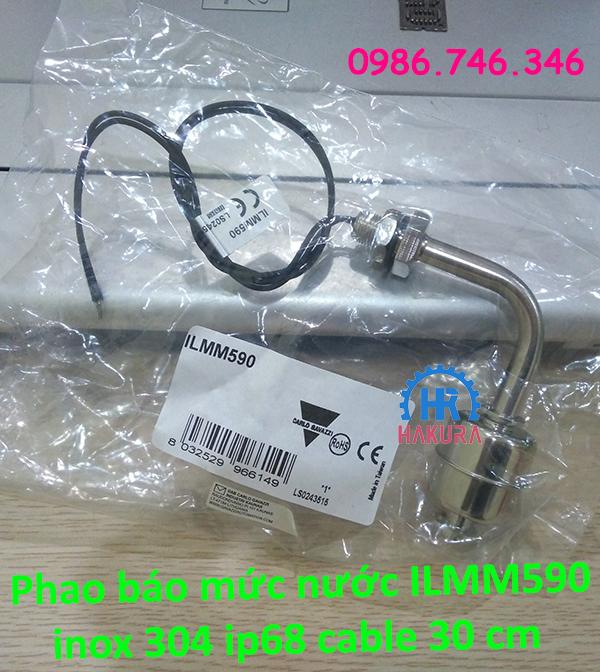 Phao báo mức nước ILMM590 inox 304 IP68 cable 30cm