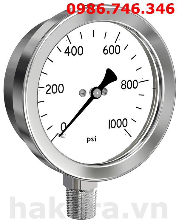 Cấu tạo của đồng hồ áp suất - hakura.vn