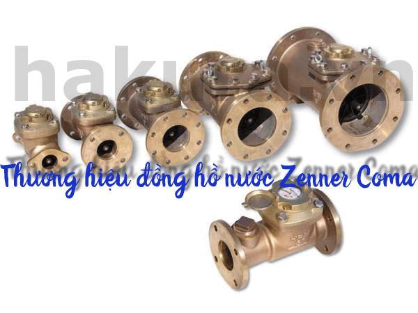 Thương hiệu đồng hồ nước Zenner Coma - hakura.vn