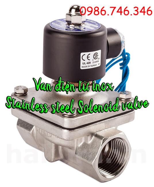 Hãy mua ngay Van điều khiển điện từ inox - Stainless Steel Solenoid valve tại Hakura. Những ưu đãi đầy bất ngờ dành cho Quý khách trong tháng này nhé.