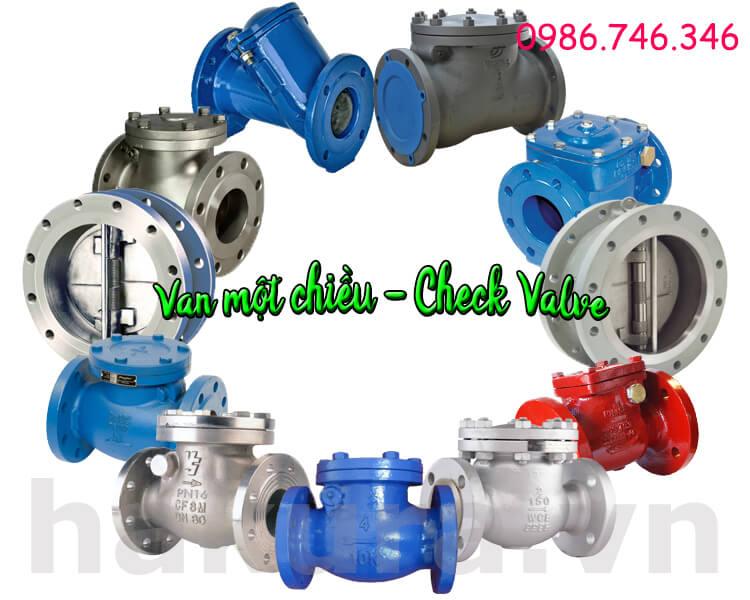 Khái niệm van 1 chiều - check valve hakura.vn