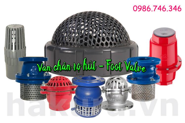 Khái niệm Van chân rọ hút foot valve - hakura.vn