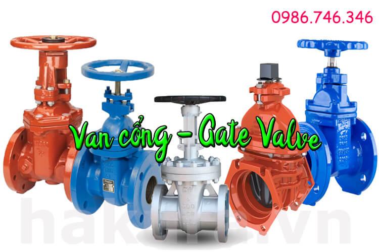 Khái niệm van cổng - gate valve hakura.vn
