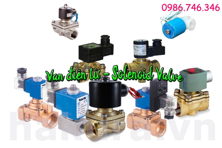 Khái niệm Van điện từ Solenoid valve - hakura.vn