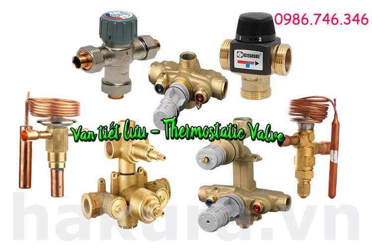 Khái niệm van tiết lưu thermostatic valve - hakura.vn