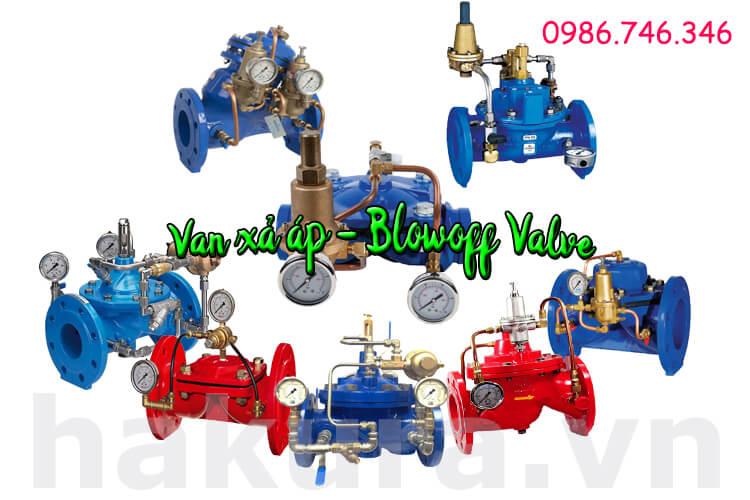 Khái niệm van xả áp blowoff valve - hakura.vn