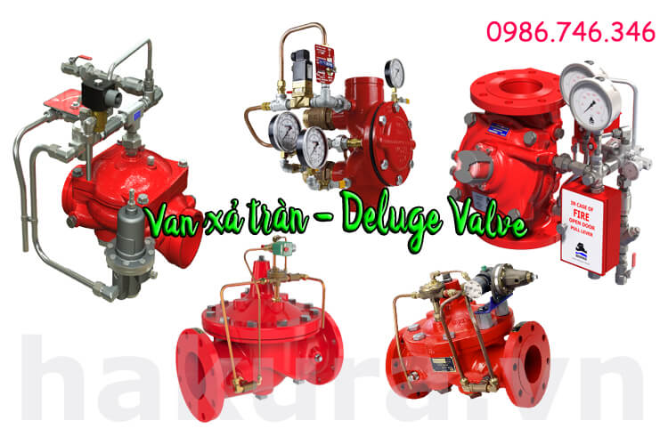 Khái niệm van xả tràn deluge valve - hakura.vn