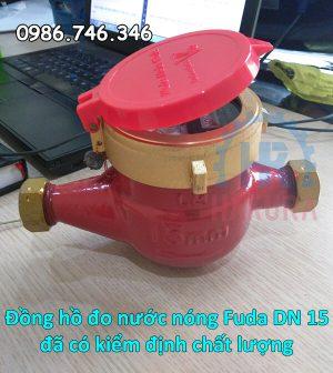 Đồng hồ đo nước nóng Fuda DN 15 đã có kiểm định chất lượng - hakura.vn