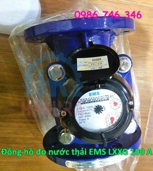 Đồng hồ đo nước thải EMS LXXG 100 A - hakura.vn