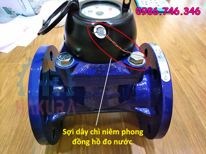 sợi dây chì niêm phong đồng hồ đo nước - hakura.vn