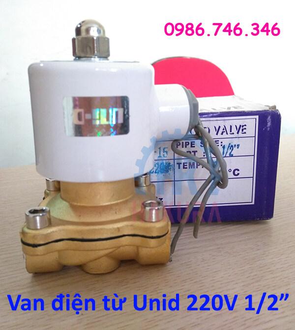 Van điện từ Unid 220V 1/2 inch - hakura.vn