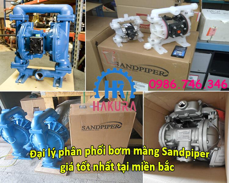 Đại lý Hakura phân phối bơm màng Sandpiper giá tốt nhất tại miền bắc - Hà Nội