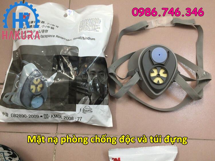 Mặt nạ phòng chống độc và túi đựng - hakura.vn