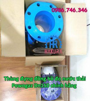 Thùng đựng đồng hồ đo nước thải Powogaz DN150 chính hãng