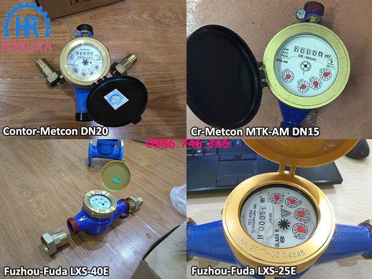 Đồng hồ đo nước Cr Contor-Metcon Rumani cho các công trình nhà máy, khu công nghiệp