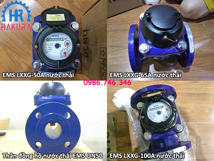 Đồng hồ đo nước EMS Taiwan cho các công trình nhà máy, khu công nghiệp