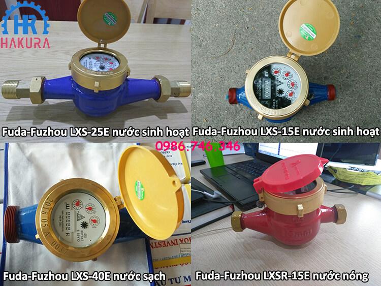 Đồng hồ đo nước Fuda-Fuzhou Trung Quốc cho các công trình nhà máy, khu công nghiệp