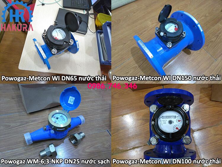 Đồng hồ đo nước Powogaz-Metcon cho các công trình nhà máy, khu công nghiệp