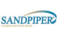 Logo thương hiệu bơm màng công nghiệp Sandpiper Mỹ